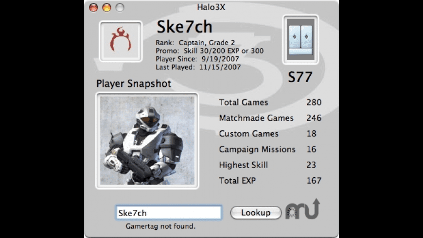 Halo3X for Mac - review, screenshots
