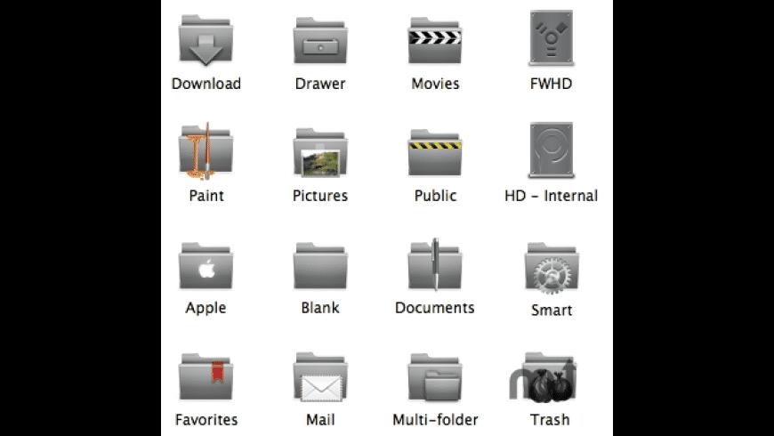 Orion Folders for Mac - review, screenshots