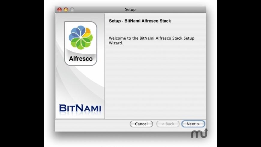 BitNami Alfresco Stack for Mac - review, screenshots
