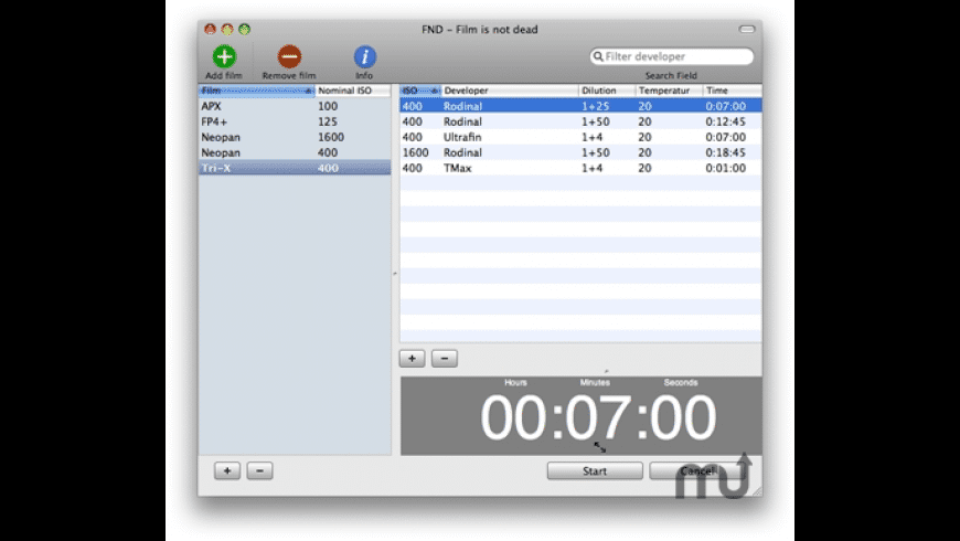 FND for Mac - review, screenshots