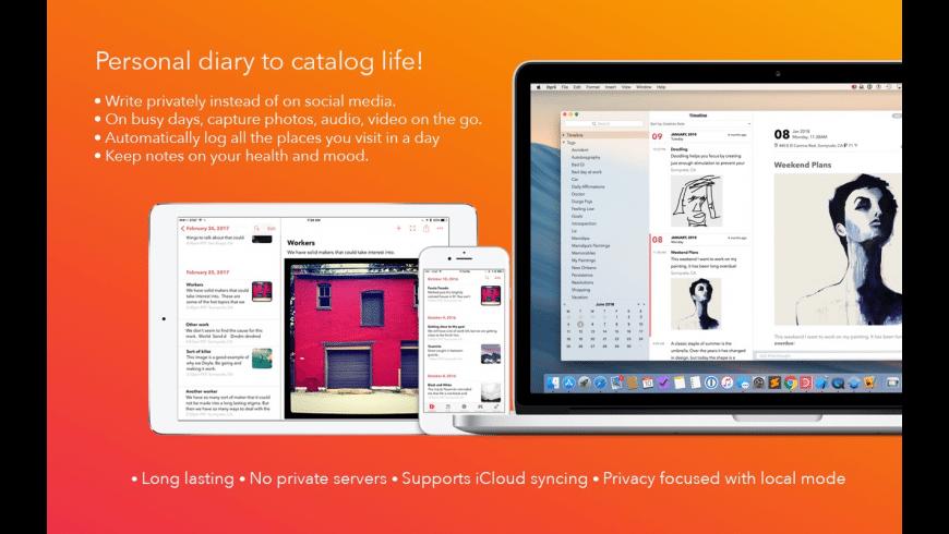 Dyrii Journal for Mac - review, screenshots