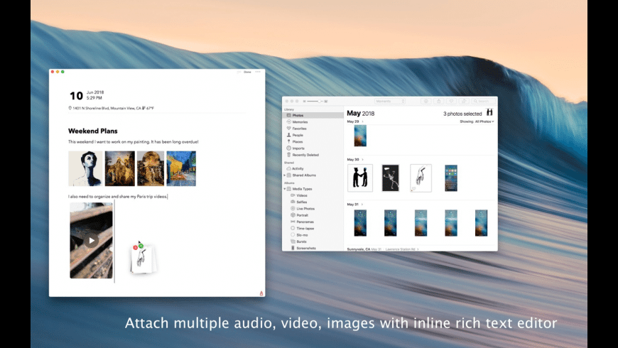 Dyrii Journal for Mac - review, screenshots