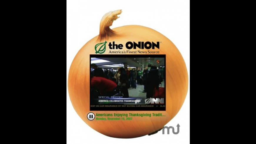 The Onion Radio News Network Video Podcast for Mac - review, screenshots