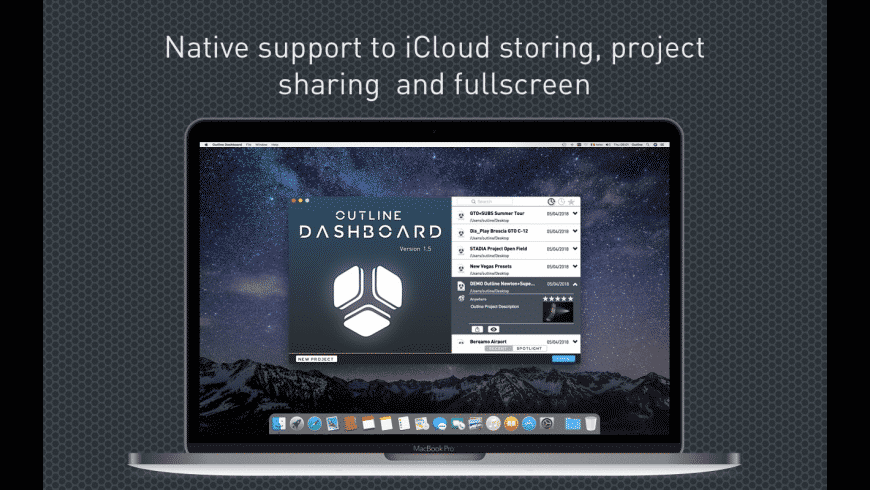Outline Dashboard for Mac - review, screenshots