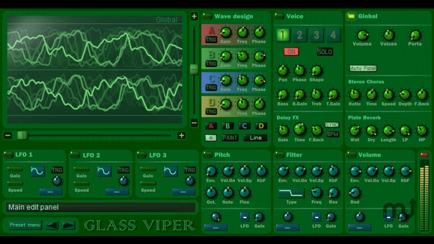 Glass Viper for Mac - review, screenshots