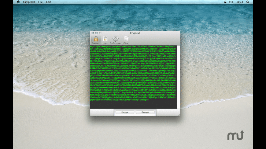 Cryptext for Mac - review, screenshots