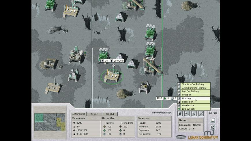Lunar Domination for Mac - review, screenshots