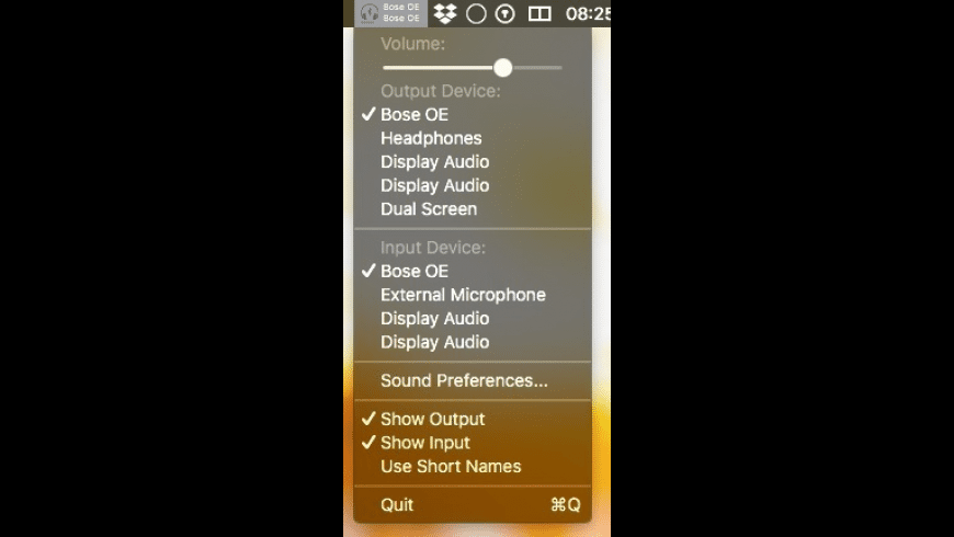 AudioDevice for Mac - review, screenshots