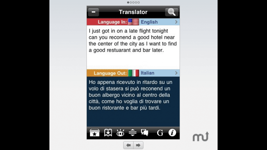 BdTranslator for Mac - review, screenshots