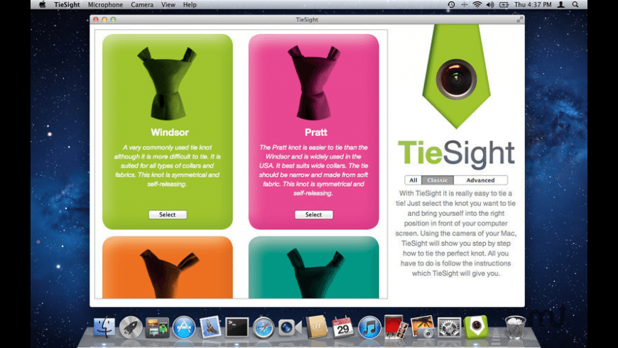 TieCam for Mac - review, screenshots