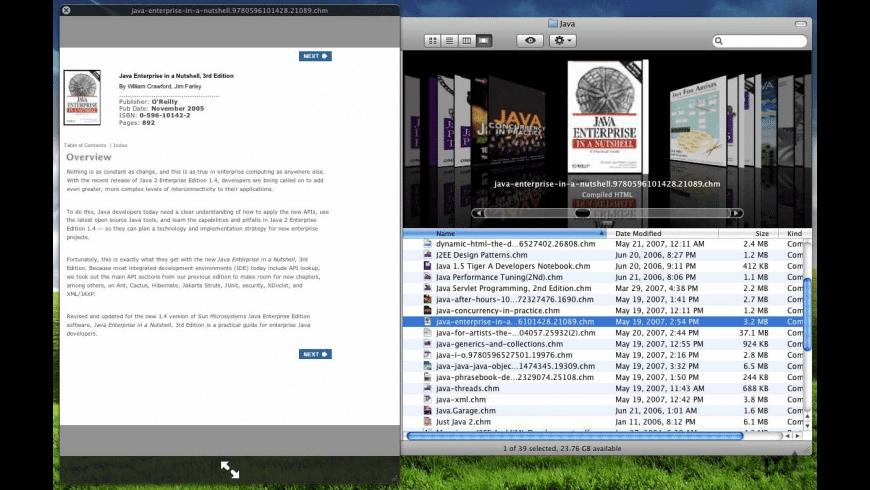 QuickCHM for Mac - review, screenshots