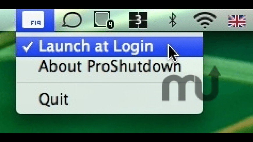 ProShutdown for Mac - review, screenshots