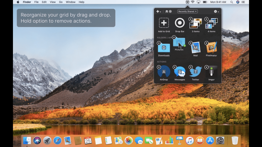 Dropzone 3 for Mac - review, screenshots
