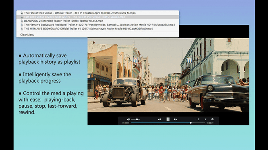 iFunia Media Player for Mac for Mac - review, screenshots
