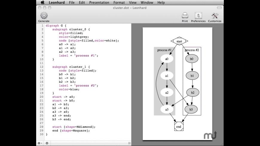 Leonhard for Mac - review, screenshots