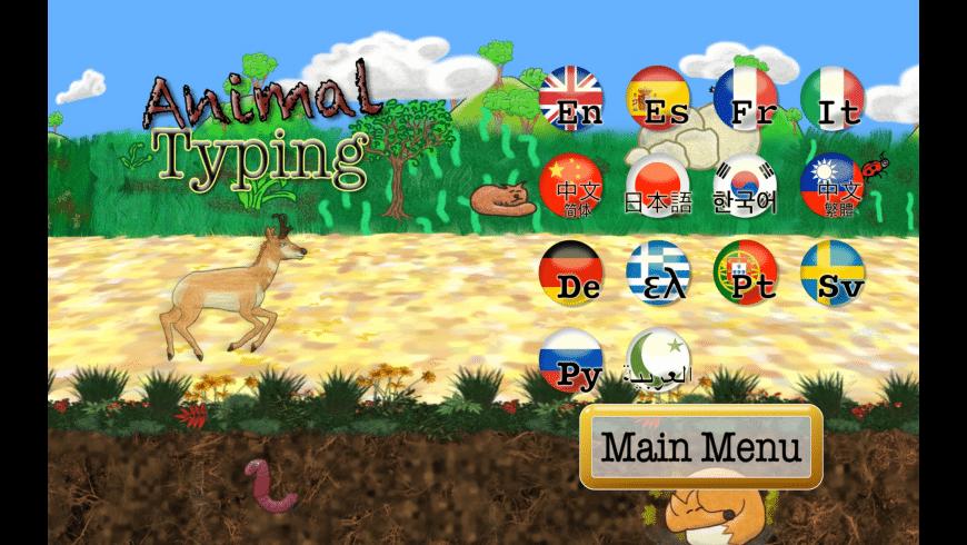 Animal Typing for Mac - review, screenshots