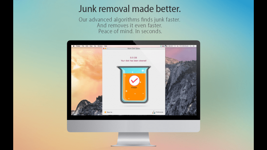 More Disk Space for Mac - review, screenshots