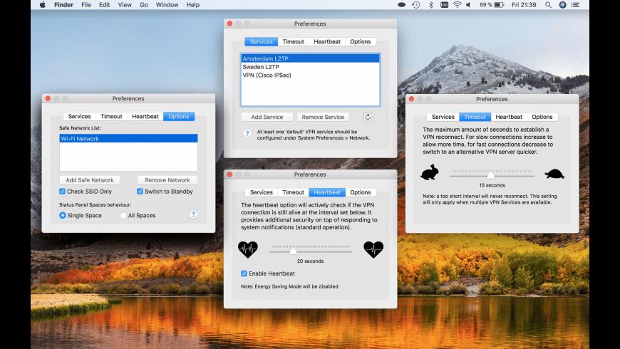 VPN Monitor for Mac - review, screenshots