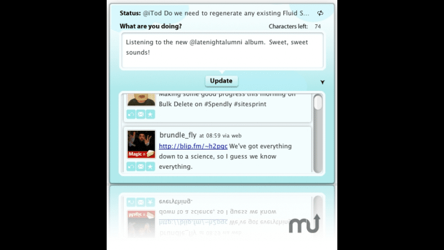 Twidget for Mac - review, screenshots