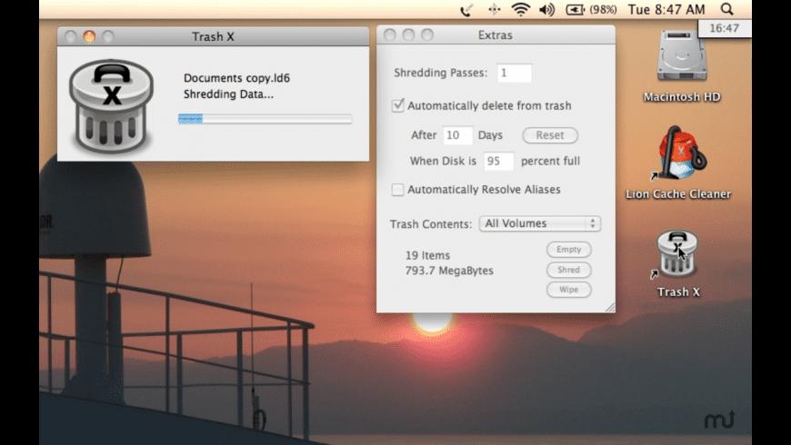 Trash X Mac 破解版 全能卸载软件
