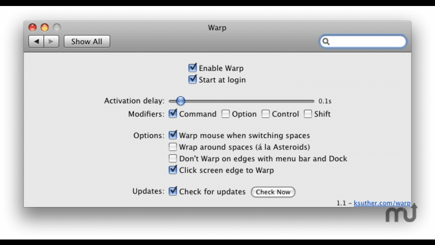 Warp for Mac - review, screenshots