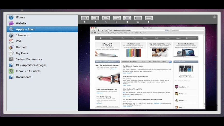 Optimal Layout for Mac - review, screenshots