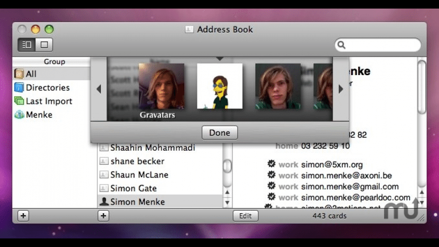 Avatars for Mac - review, screenshots