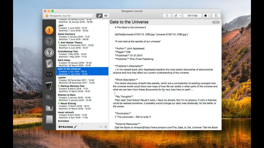 Note-C for Mac - review, screenshots
