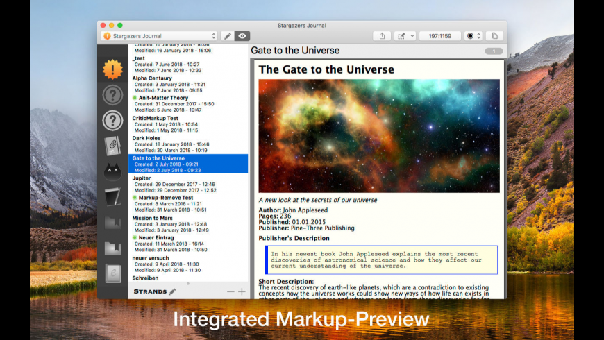 Note-C for Mac - review, screenshots