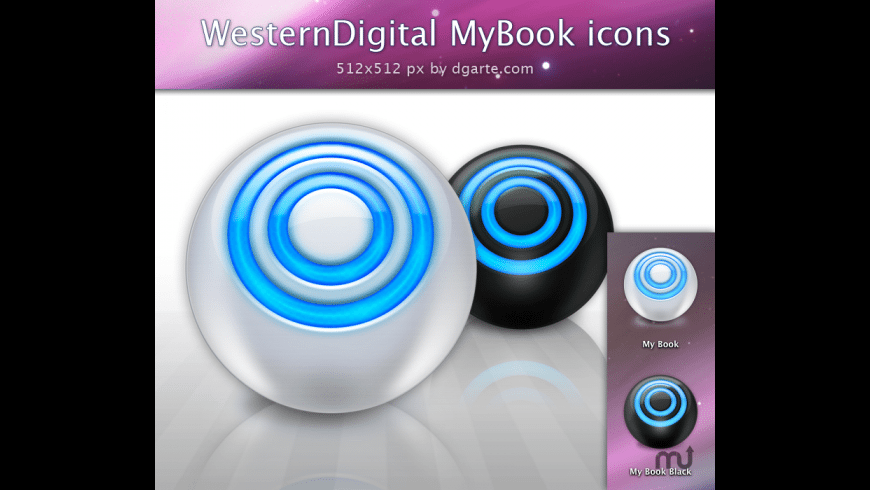 MyBook Icons Sphere for Mac - review, screenshots