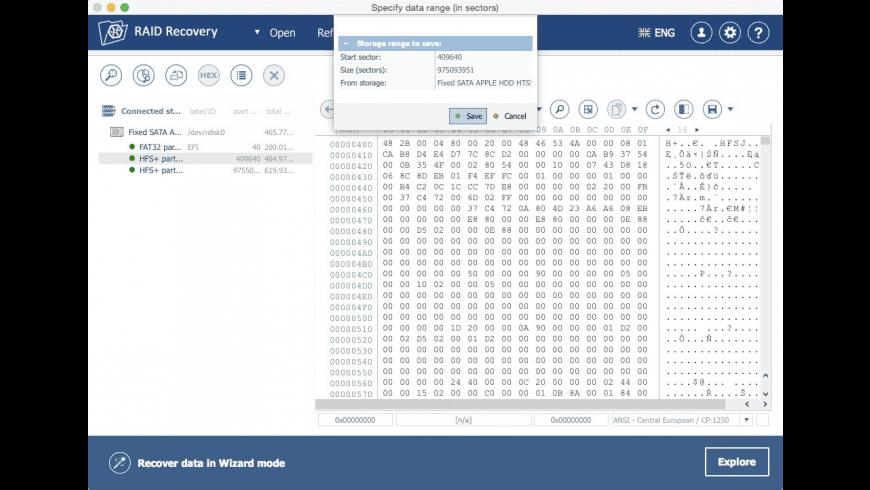 Recovery Explorer RAID for Mac - review, screenshots