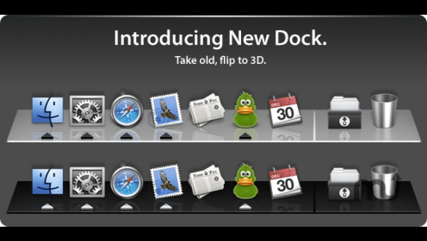 New Dock for Mac - review, screenshots