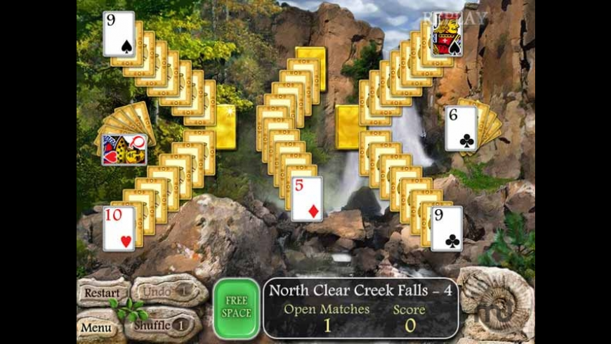 Waterscape Solitaire: American Falls for Mac - review, screenshots