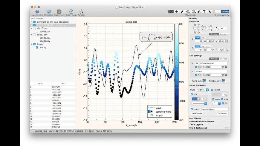 SuperMjograph for Mac - review, screenshots