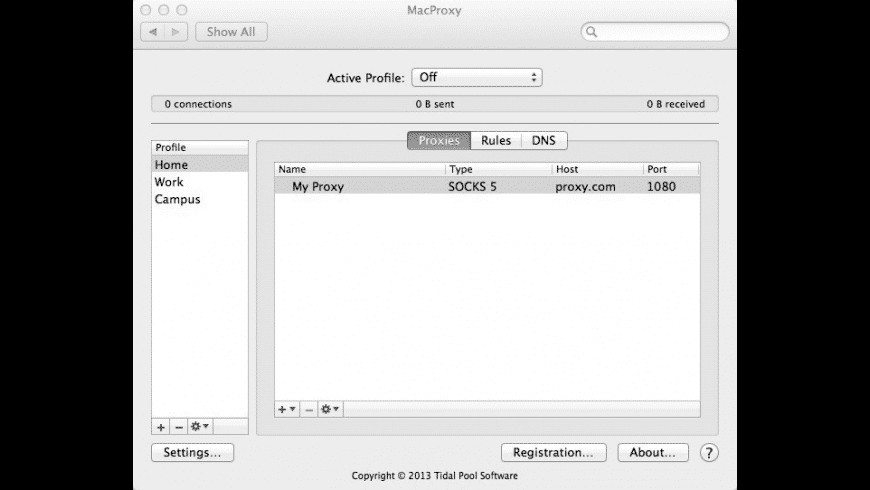 MacProxy for Mac - review, screenshots