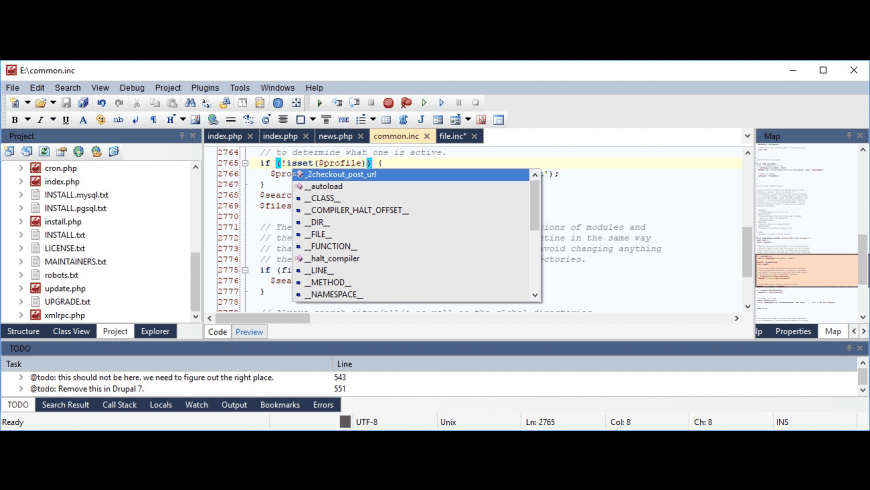 CodeLobster IDE for Mac - review, screenshots