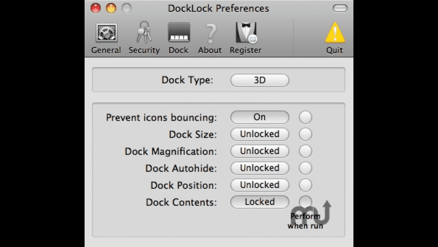 DockLock for Mac - review, screenshots