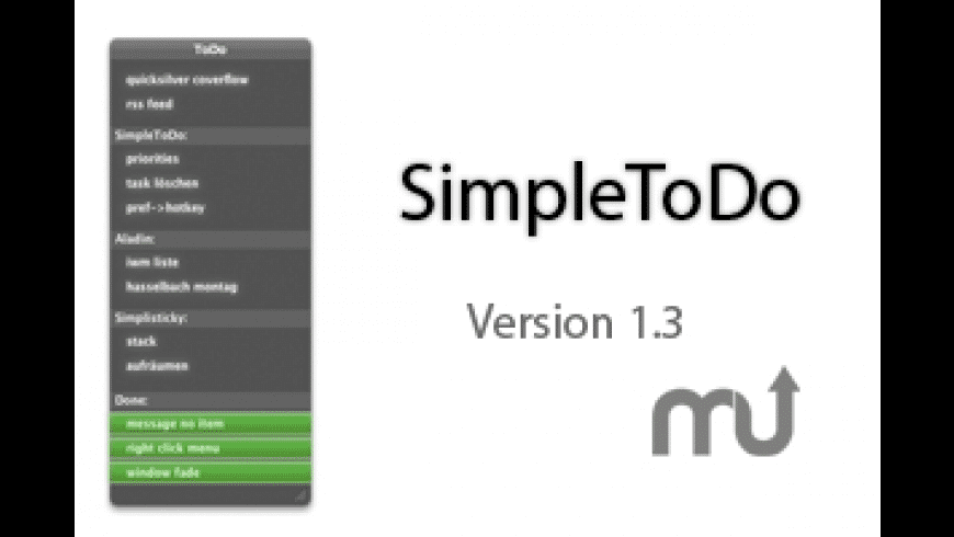 SimpleToDo for Mac - review, screenshots