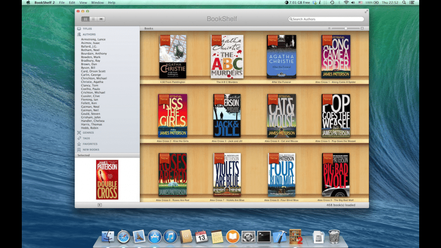 BookShelf 2 for Mac - review, screenshots