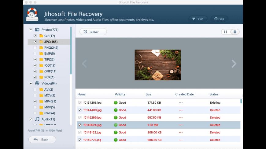 Jihosoft File Recovery for Mac - review, screenshots