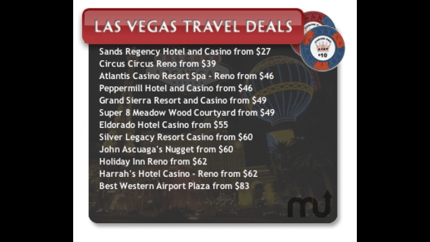 Las Vegas Travel Widget for Mac - review, screenshots