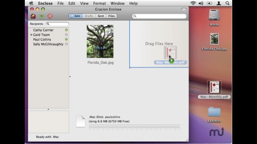 Gracion Enclose for Mac - review, screenshots