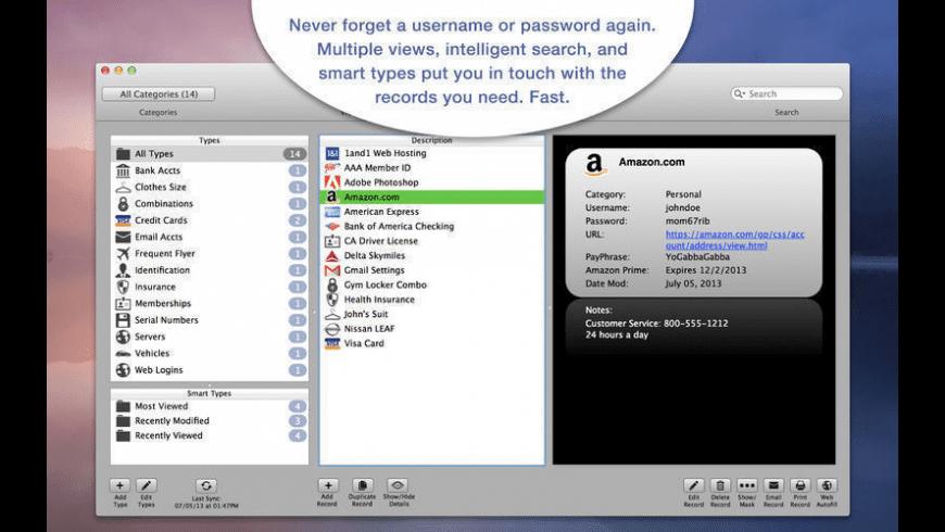 SplashID Safe for Mac - review, screenshots