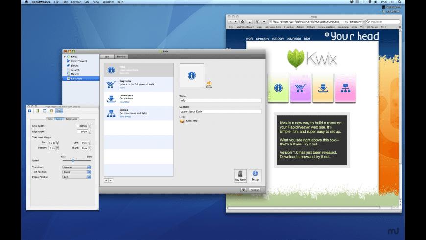 Kwix for Mac - review, screenshots