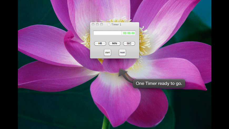 Kitchen Timer for Mac - review, screenshots