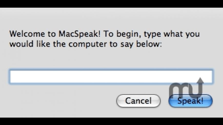 MacSpeak for Mac - review, screenshots