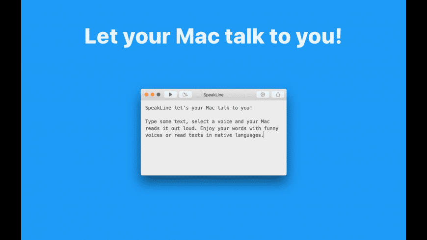 SpeakLine for Mac - review, screenshots