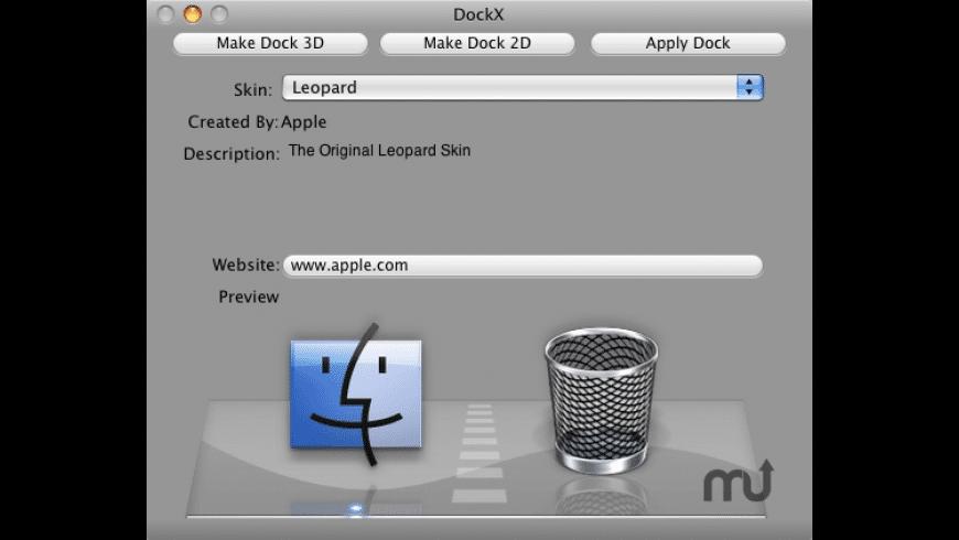DockX for Mac - review, screenshots