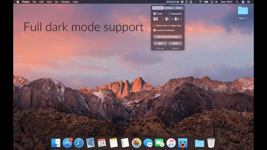 Timey 2 for Mac - review, screenshots