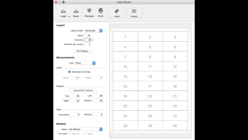 Mailist for Mac - review, screenshots